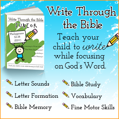 Write Through the Bible Junior