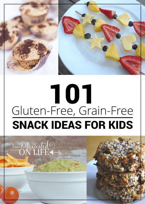 101 Gluten Free Grain Free Snack Ideas For Kids