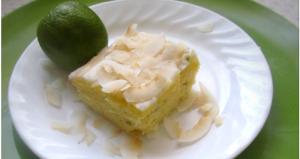 Gluten-Free Key-Lime Coconut Cake 2