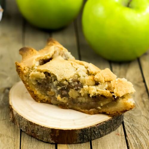 Not your Grandma's Apple Pie (aka: You're the Apple of My Pie)