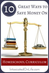 Learn how you can save BIG money on homeschool curriculum this year! @ IntoxicatedOnLife.com #HomeschoolCurriculum #SaveMoney