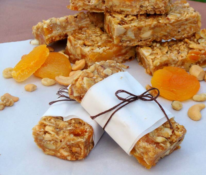 Healthy, Grain Free Granola Bars