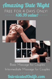 Grab these 2 books FREE for 4 days. Plan an amazing, free, date-night with your spouse. #DateNight #Massage #Marriage