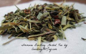 DIY~Immune Boosting Herbal Tea