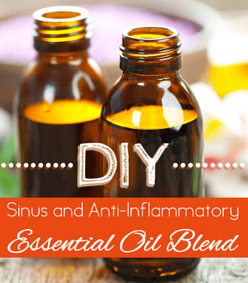 DIY Sinus and Anti Inflammatory Essential Oil Blend