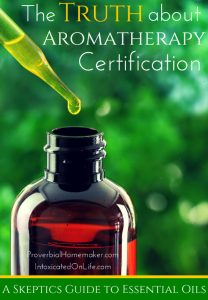 The Truth About Aromatherapy Certification