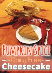 PumpkinSPiceDairyFreeCheesecake