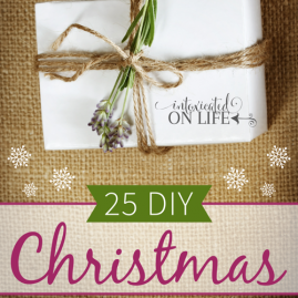25 DIY Christmas Gift Ideas (a little something for everyone!)