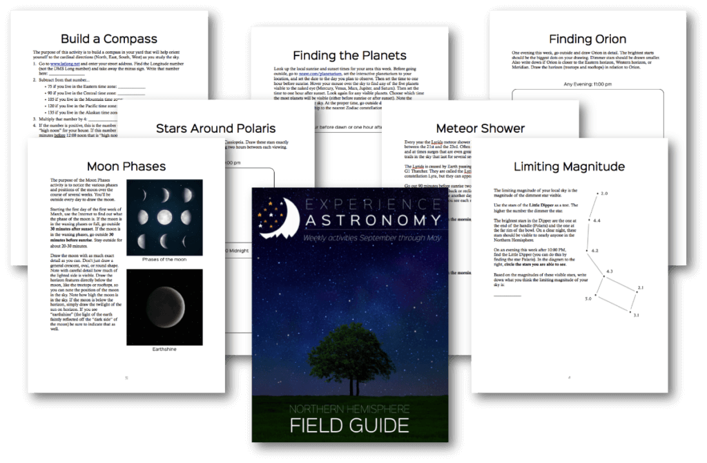 Experience Astronomy Collage