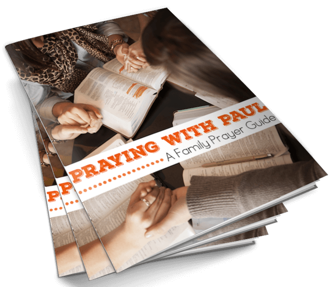 Praying with Paul Cover