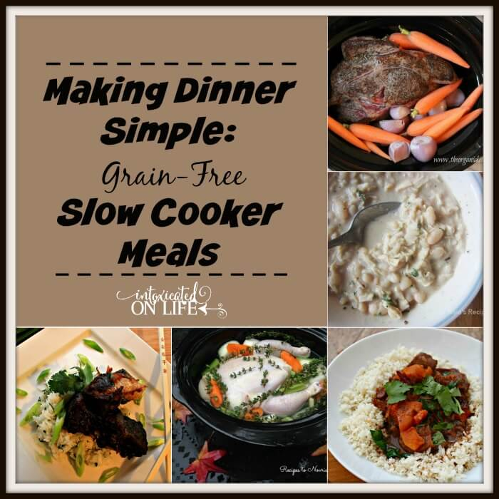 Making Dinner Simple: Grain-Free Slow Cooker Meals