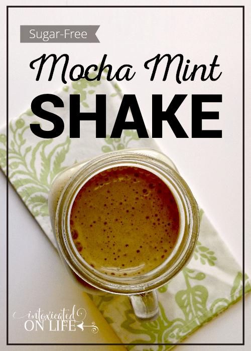 Sugar Free Mocha Mint Shake
