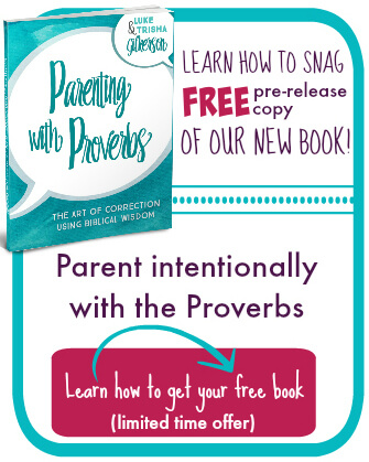 Free copy of parenting with proverbs