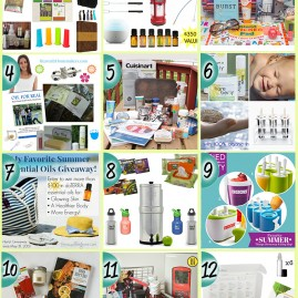 Favorite Summer Things Giveaway Collage