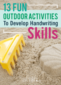 13FunOutdoorActivitiesToDevelopHandwritingSkills