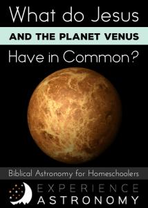 Jesus and the Planet Venus
