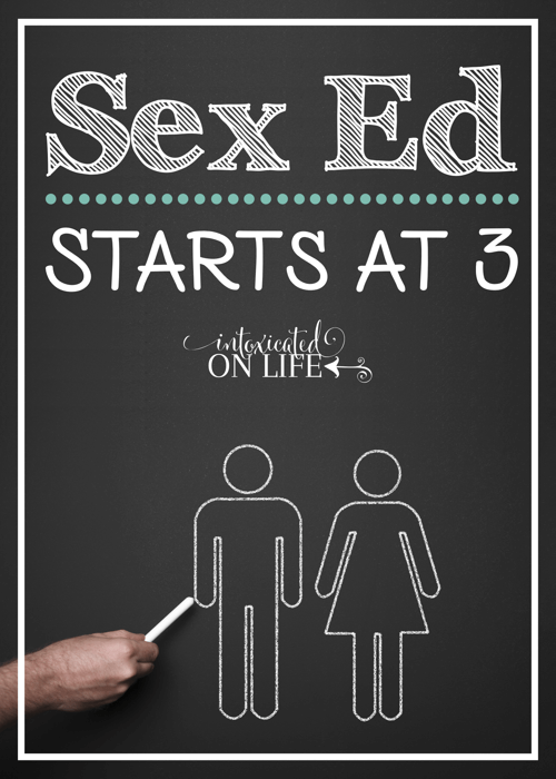 Sex Ed Starts At 3
