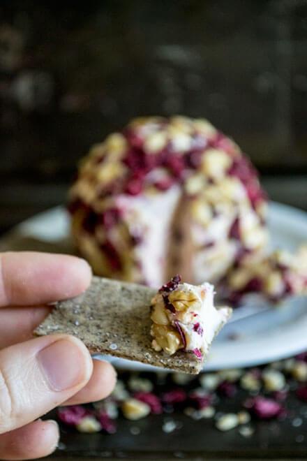 Cranberry Walnut Cheese Ball