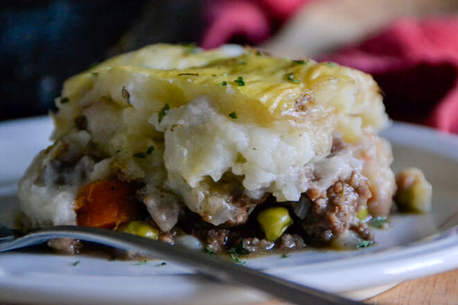 Rustic Irish Shepherd's Pie
