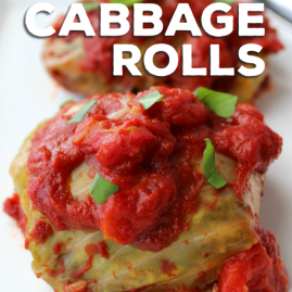 Paleo, Slow-Cooker Cabbage Rolls
