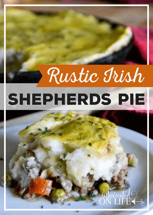 Rustic Irish Shepherds Pie