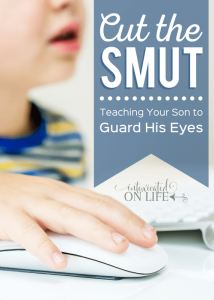 Cut the Smut: Teaching Your Son to Guard His Eyes