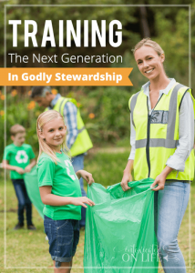 Training the Next Generation in Godly Stewardship