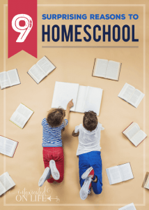 9 Surprising Reasons to Homeschool
