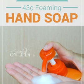 {DIY} 43¢ Foaming Hand Soap
