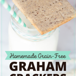 Homemade Grain-Free Graham Crackers (with a sugar-free option!)