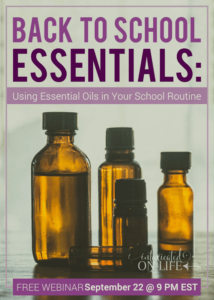 Back to School Essentials: Using Essential Oils in Your School Routine