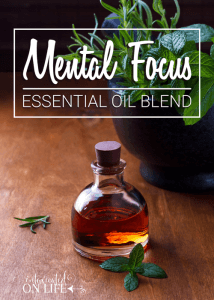 Mental Focus Essential Oil Blend