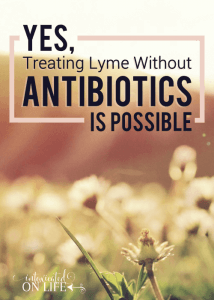 Yes, Treating Lyme without Antibiotics Is Possible