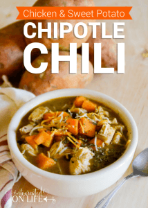 Chicken and Sweet Potato Chipotle Chili