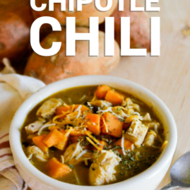 Chicken and Sweet Potato Chipotle Chili