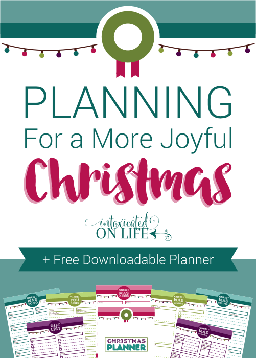 Planning For A More Joyful Christmas Free Downloadable Planner