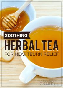 Soothing Herbal Tea for Heartburn Relief