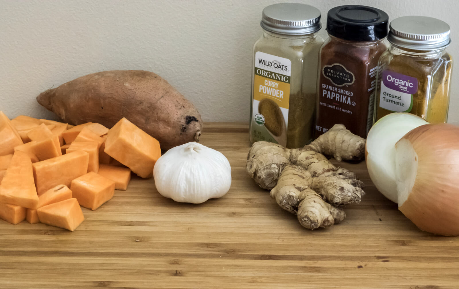 Curried Sweet Potato Soup Ingredients