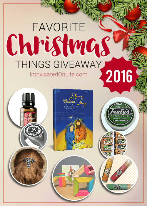 Favorite Christmas Things Giveaway 2016