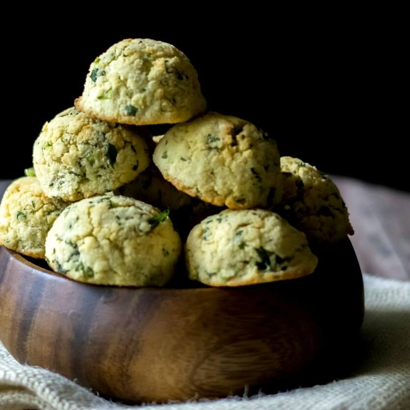Grain-Free Herb Biscuits