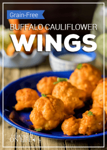 Grain-Free Buffalo Cauliflower Wings