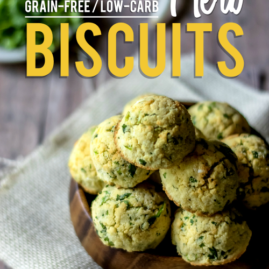 Grain-Free, Low-Carb Herb Biscuits