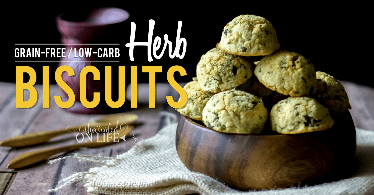 Grain Free Low Carb Herb Biscuits