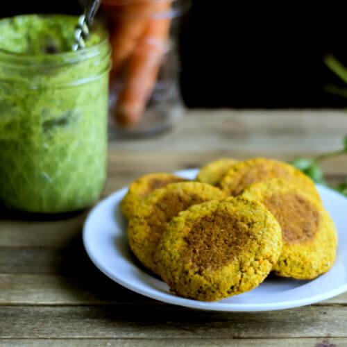 Grain-Free Baked Carrot Falafel