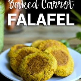 Baked Carrot Falafel (grain-free)