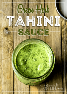 Green Herb Tahini Sauce