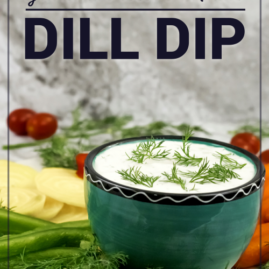 Grandma's Best 5-Minute Dill Dip