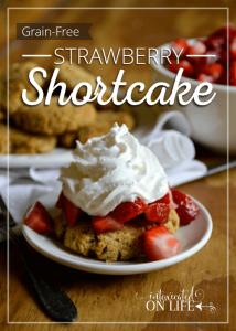 Honey-Sweetened, Grain-Free Strawberry Shortcake