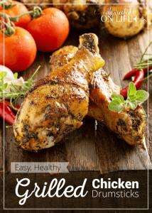 Easy, Healthy Grilled Chicken Drumsticks