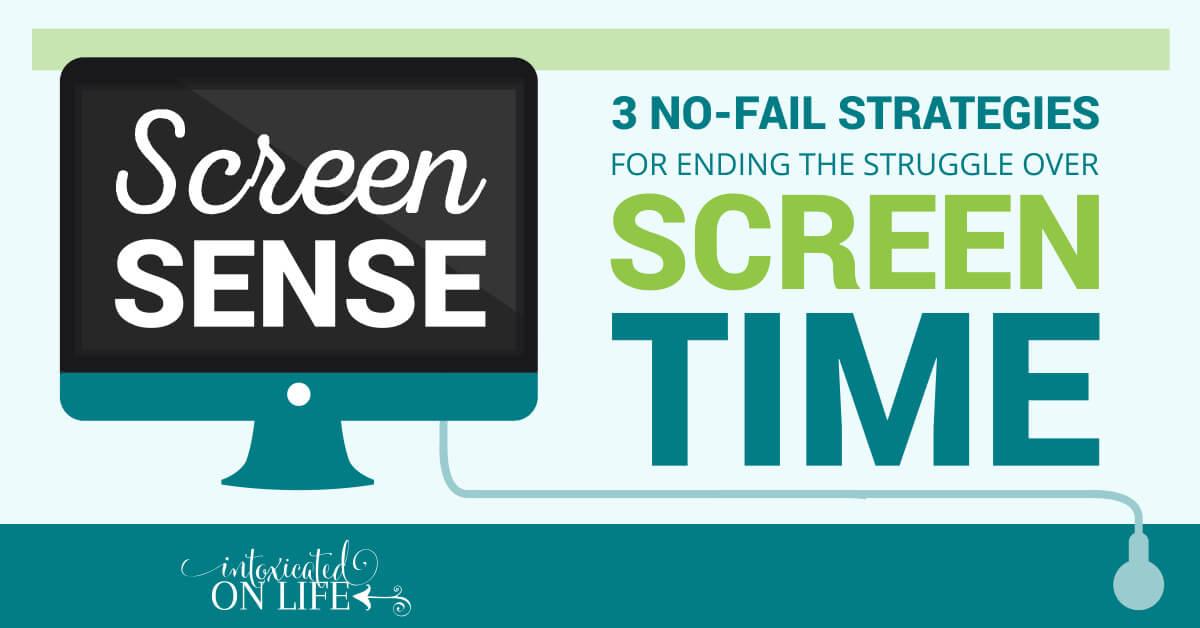 Screen Sense 3 No Fail Strategies For Ending The Struggle Over Screen Time